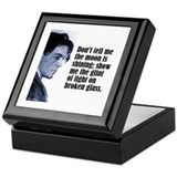 "Chekhov ""Don't Tell Me"" Keepsake Box"