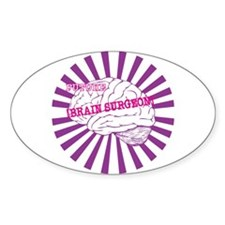 Future Brain Surgeon - Access Oval Decal