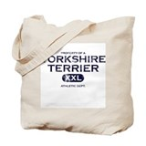 Property of Yorkshire Terrier Tote Bag