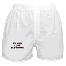 Real Women Love Sea Urchins Boxer Shorts