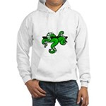 Cthulhu tentacles from pit Hooded Sweatshirt