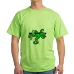 Cthulhu tentacles from pit Green T-Shirt