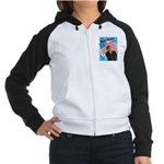 Dave Barry For President Women's Raglan Hoodie
