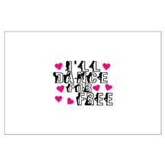 Free Dance Large Poster
