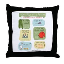 """Fairy Tale Gift Shoppe"" Throw Pillow"