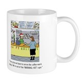 Warm Coffee Holiday Cartoon Mug