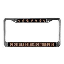 Coffeemobile License Plate Frame