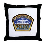 LAX Police Throw Pillow