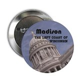 "Madison Wisconsin 2.25"" Button (100 pack)"