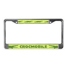Crocmobile License Plate Frame