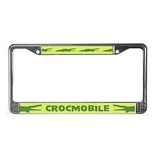 Crocmobile License Plate Frame