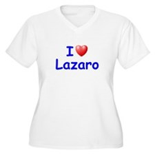 I Love Lazaro (Blue) T-Shirt