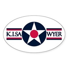 K. I. Sawyer Air Force Base Oval Decal