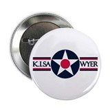 "K. I. Sawyer Air Force Base 2.25"" ReUnion Button"