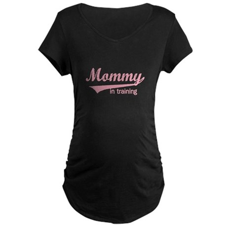 Mommy in Training Maternity Dark T-Shirt