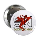 "Saxophone Ninja 2.25"" Button"