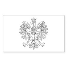 Polish Eagle (Polski Orzel) Rectangle Decal
