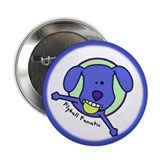 Flyball Fanatic Button