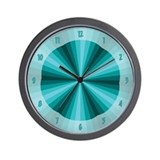 Aqua Illusion Wall Clock