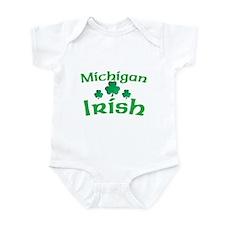 Michigan Irish Shamrocks Infant Bodysuit