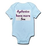dyslexics have more fnu Infant Creeper