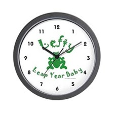Left Handed Leap Year Wall Clock