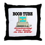 Boob Tube Throw Pillow