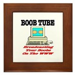 Boob Tube Framed Tile