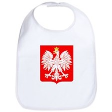 Polish Eagle Shield Bib