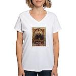 Orrin P. Rockwell Women's V-Neck T-Shirt