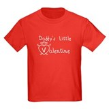 Daddy's Valentine (girl) T