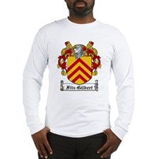 Fitz-Gilbert Family Crest Long Sleeve T-Shirt