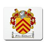 Fitz-Gilbert Family Crest Mousepad