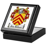 Fitz-Gilbert Family Crest Keepsake Box