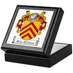 Fitz-Gilbert Family Crest Keepsake Box
