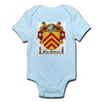 Fitz-Gilbert Family Crest Infant Creeper