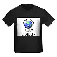 World's Coolest TALLOW CHANDLER Kids Dark T-Shirt