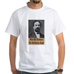 Wild Bill Hickman White T-Shirt