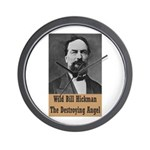 Wild Bill Hickman Wall Clock