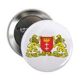 "Gdansk, Poland city symbol 2.25"" Button (10 pack)"