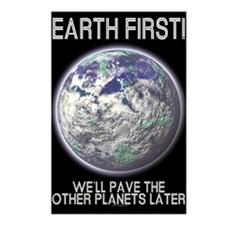 Earth First -  Postcards (Package of 8)