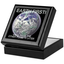 Earth First - Keepsake Box