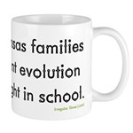 Kansas Wants Evolution Coffee Mug