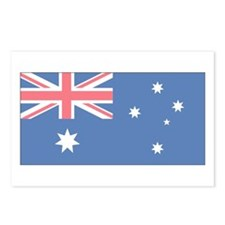 Australian Flag Postcards (Package of 8)