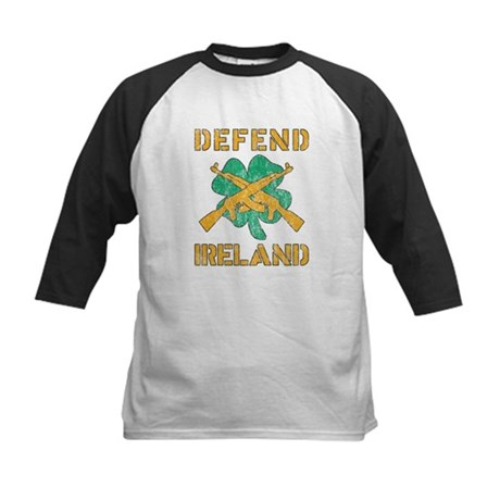Defend Ireland Kids Baseball Jersey