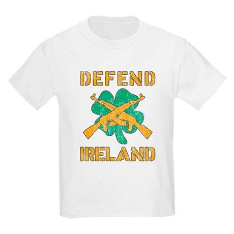 Defend Ireland Kids Light T-Shirt