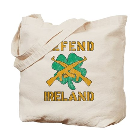 Defend Ireland Tote Bag