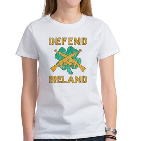 Defend Ireland Womens T-Shirt
