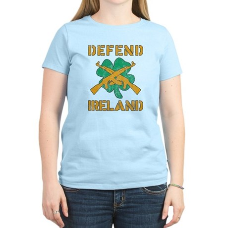 Defend Ireland Womens Light T-Shirt