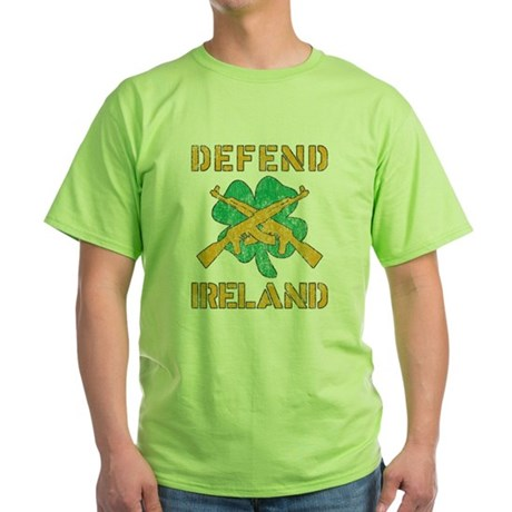 Defend Ireland Green T-Shirt